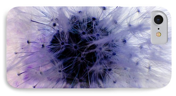 Purple Taraxacum Phone Case by Tina M Wenger