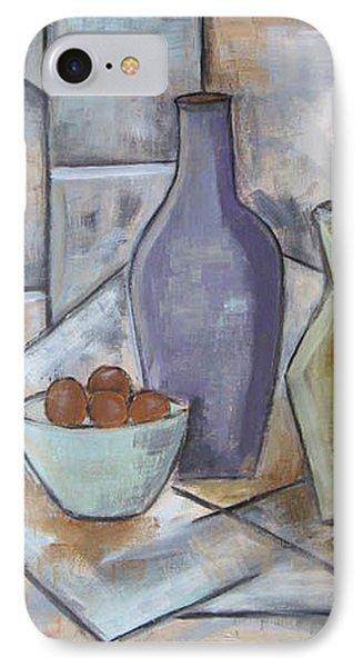 Purple Vase IPhone Case by Trish Toro