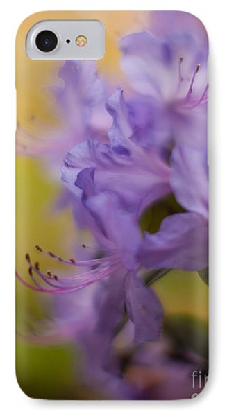 Purple Whispers Phone Case by Mike Reid