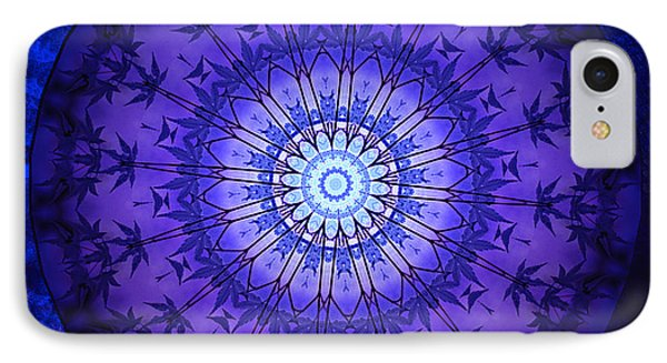 Purpleblue 2 IPhone Case by Barbara R MacPhail