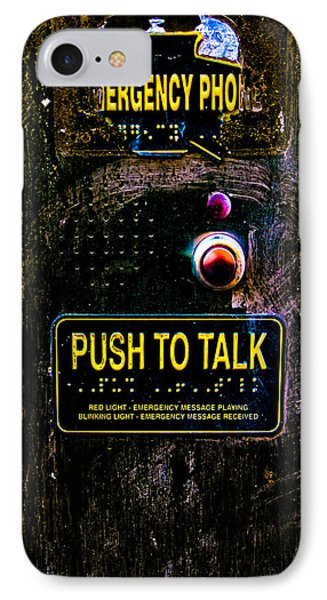Push To Talk Phone Case by Bob Orsillo