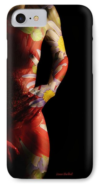 Put A Little Spring In Your Step IPhone Case by Donna Blackhall