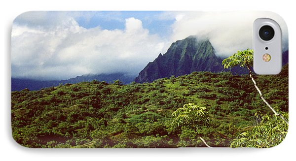 Puu Piei Trail Koolau Mountains Phone Case by Thomas R Fletcher