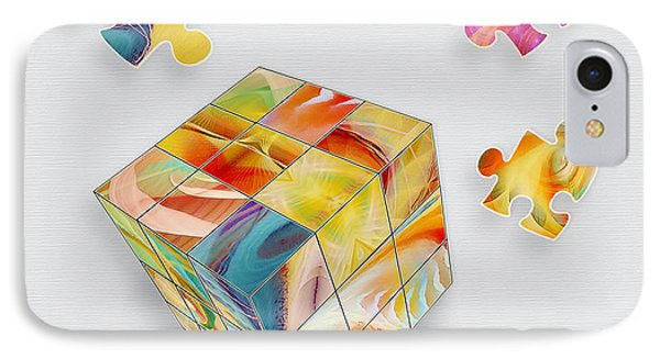 Puzzle Mania Phone Case by Gayle Odsather