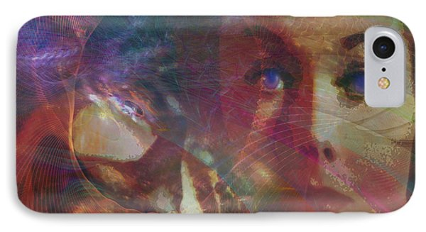 Pyewacket And Gillian - Square Version IPhone Case by John Robert Beck