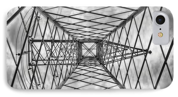 Pylon IPhone Case by Howard Salmon