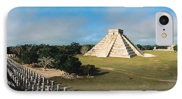 Pyramid Chichen Itza Mexico IPhone Case by Panoramic Images
