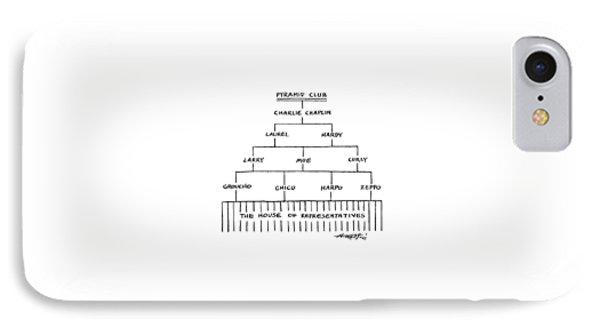 Pyramid Club IPhone Case