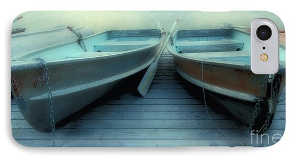 Pyramid Lake Row Boats IPhone Case by Bob Christopher