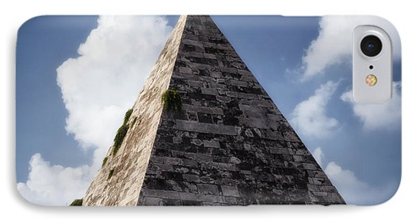 Pyramid Of Rome Phone Case by Joan Carroll