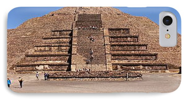 Pyramid Of The Moon Panorama Phone Case by Sean Griffin