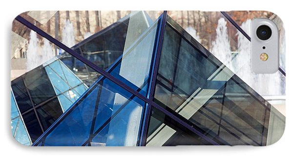 Pyramid Skylights IPhone Case by Stuart Litoff