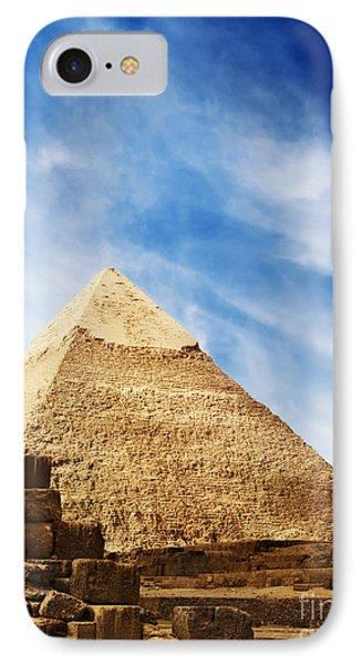 Pyramids In Egypt  IPhone Case by Jelena Jovanovic