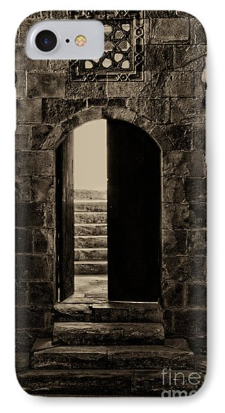 Qalawun Doorway Cairo IPhone Case by Nigel Fletcher-Jones
