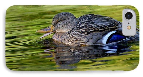 Quack Phone Case by Sharon Talson
