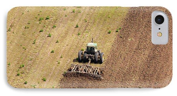 Quad Tractor Phone Case by John Ferrante