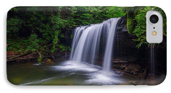 Quadrule Falls Summer IPhone Case by Anthony Heflin