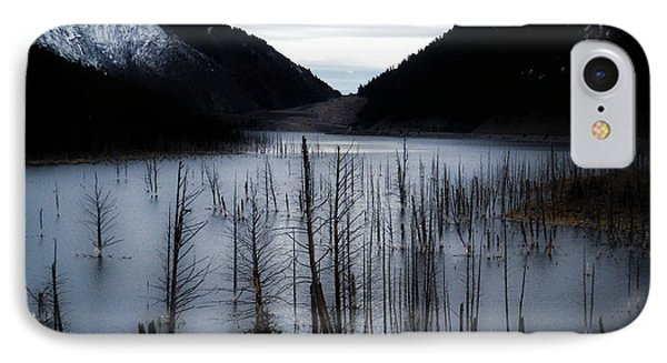 Quake Lake IPhone Case by Tarey Potter