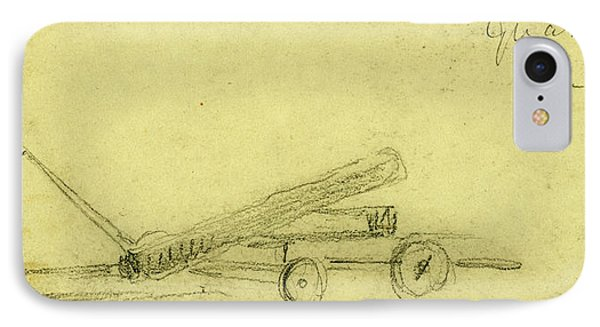 Quaker Gun In Annandale, 1863 Ca. October IPhone Case