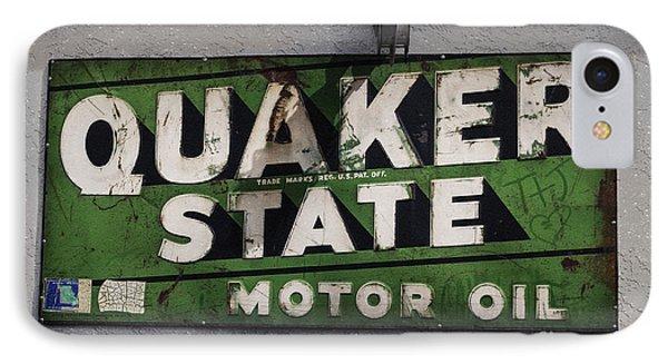 Quaker State Motor Oil Phone Case by Janice Rae Pariza