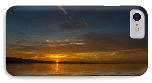 Qualicum Sunset II Phone Case by Randy Hall
