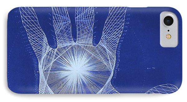 Quantum Hand Through My Eyes Phone Case by Jason Padgett