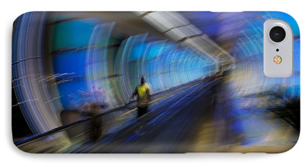 IPhone Case featuring the photograph Quantum Tunneling by Alex Lapidus
