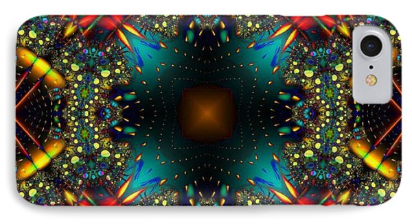 Quasar Kaleidoscope No 1 IPhone Case