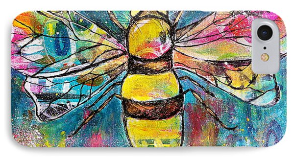 Queen Bee #2 IPhone Case by Kim Heil