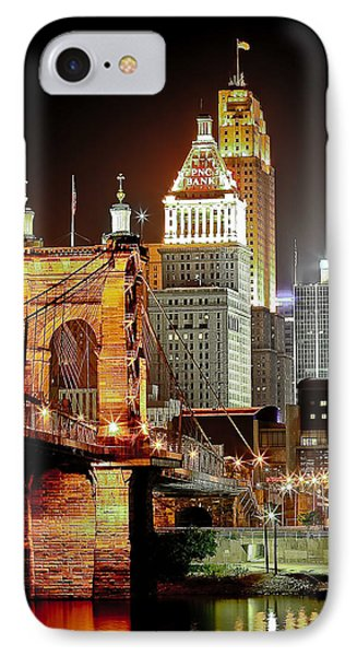 Queen City At Night IPhone Case