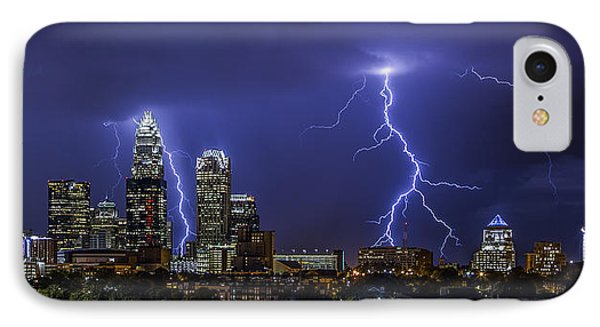 Queen City Strike IPhone Case by Chris Austin