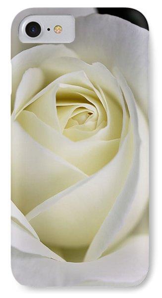 Queen Ivory Rose Flower 2 Phone Case by Jennie Marie Schell