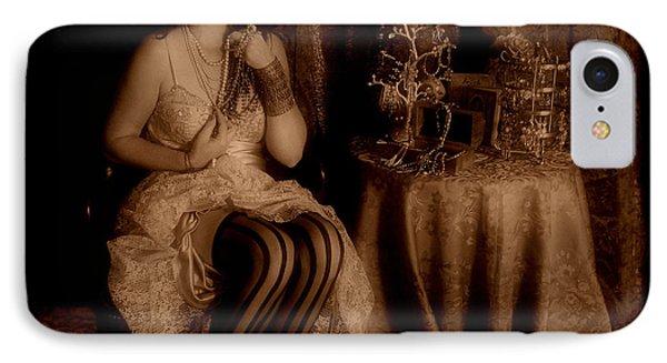 Queen Midas Phone Case by Cindy Nunn
