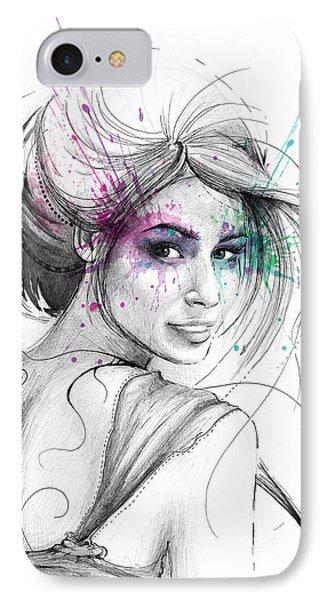Queen Of Butterflies IPhone 7 Case by Olga Shvartsur