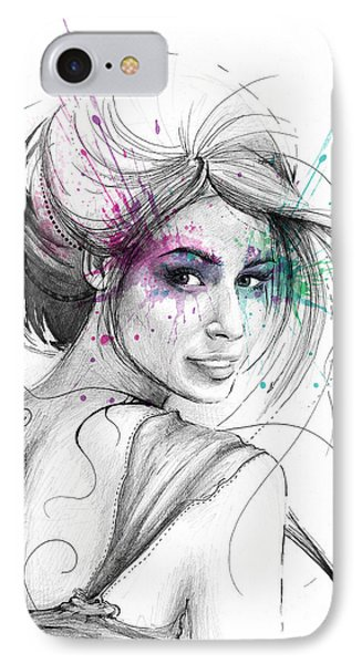 Queen Of Butterflies IPhone Case by Olga Shvartsur