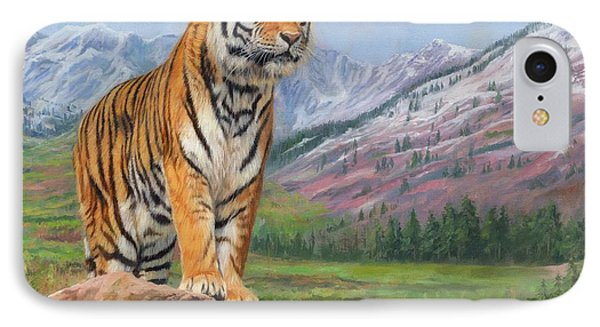 Queen Of Siberia IPhone Case by David Stribbling