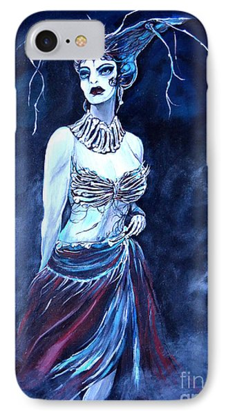Queen Of The Dead Phone Case by Valarie Pacheco