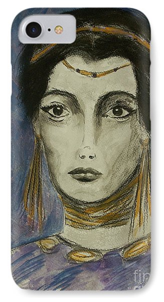 Queen Of The Nile IPhone Case by Tamyra Crossley