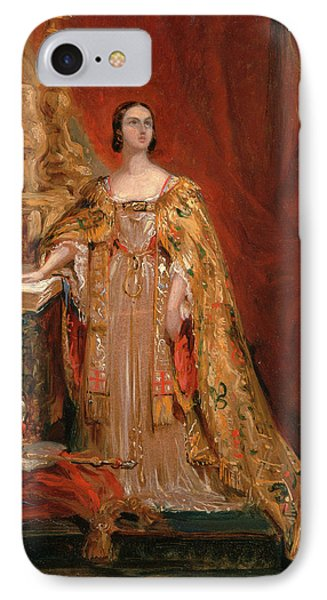 Queen Victoria Taking The Coronation Oath, June 28 IPhone Case