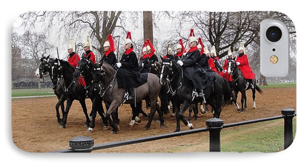 IPhone Case featuring the photograph Queen's Guard by Tiffany Erdman