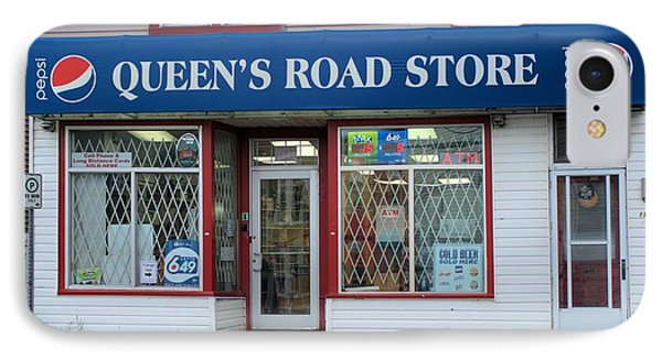 IPhone Case featuring the photograph Queen's Road Store by Douglas Pike