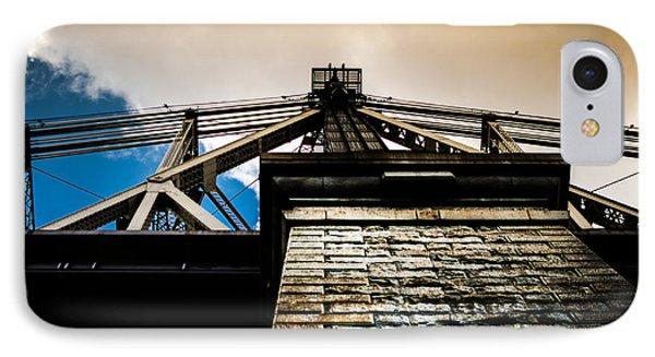 Queensboro Bridge Phone Case by Joshua Ayers