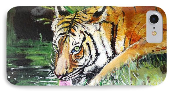 IPhone Case featuring the painting Quench by Judy Kay