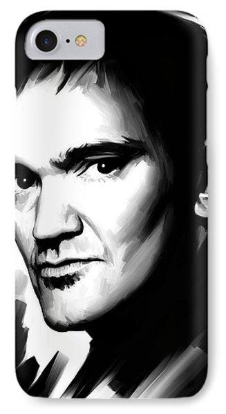 Quentin Tarantino Artwork 2 IPhone Case by Sheraz A