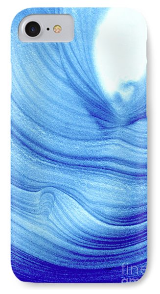 Query Blue 2 IPhone Case by Jamie Lynn