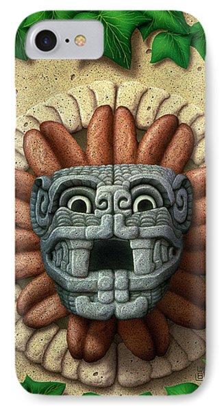 Quetzalcoatl Phone Case by WB Johnston