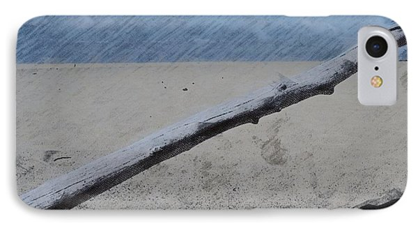 IPhone Case featuring the photograph Quiet Beach by Photographic Arts And Design Studio