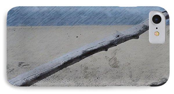 Quiet Beach IPhone Case by Photographic Arts And Design Studio