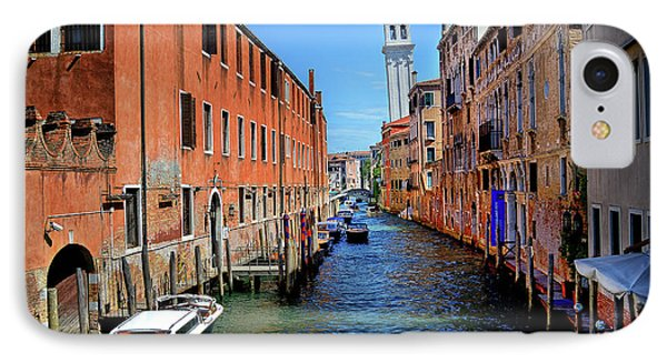 Quiet Canal IPhone Case by James David Phenicie