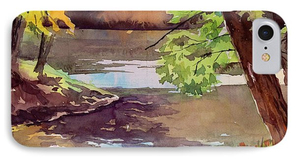 Quiet Cove Phone Case by Spencer Meagher